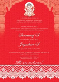 hindu wedding invitation card template free – Wedding Tips Indian Wedding Invitation Cards, Traditional Wedding Invitations, Indian Wedding Invitations, Wedding Invitation Card Template, Wedding Invitation Templates, Invitation Card Sample, Invitation Background, Online Invitations, Invites