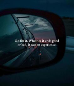 Go for it. Whether it ends good or bad, it was an experience.