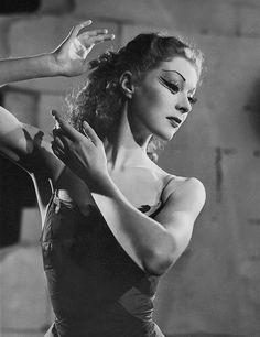 "margotfonteyns: "" ""Moira Shearer photographed by Angus McBean, 1948 "" """