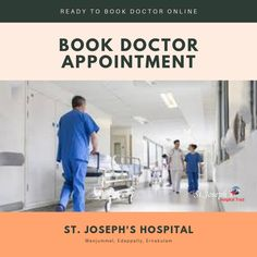 Book doctor appointments at St. Regain your health by taking proper treatment. Consult the best doctor by booking appointment online. Get in touch with medical tech services. St Joseph's Hospital, Health Care Hospital, Emergency Ambulance, Behavioral Science, Medical Help, Good Doctor, Dental Care, Pediatrics, Appointments