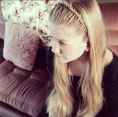 Perfect headband braid