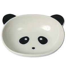 Panda face ceramic bowl for $16.50 from www.pandathings.com