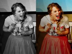 Taylor Swift. I want to see her concert again...