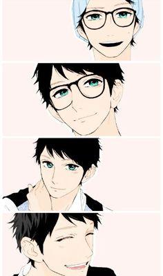 OMG O.O The Cute Guy // Anime Manga DayTime Schooting Star Shishio Satsuki