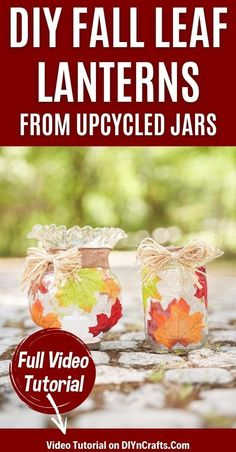 Create a stunning rustic fall leaf upcycled jar lanterns display using simple supplies you already have on hand an old globe from a light! This easy upcycled fall decoration is a great choice for a fun weekend craft. This fall lantern is sure to look great throughout autumn. #FallLantern #UpcycledJar #UpcycledCraft #Lanterns #FallDecor #FallDecoration #HomeDecor Fall Wood Crafts, Old Globe, Fall Lanterns, Weekend Crafts, Second Hand Stores, Thanksgiving Centerpieces, Fall Table, Upcycled Crafts, Fall Home Decor