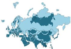 After Seeing This Map With The Actual Size Of Every Country, You'll Never Look At The World The Same   Bored Panda Correct World Map, Accurate World Map, Shapes Images, America Images, Alternate History, Natural Earth, Bored Panda, Dark Colors, South America