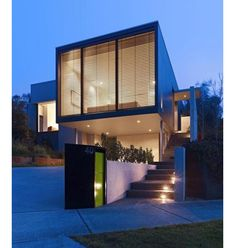 Melbourne, Australia-based firm Neil Architecture designed the Orchard Crescent house.