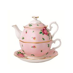 Royal Albert New Country Roses Tea for One..saw this at a $$$$ Dublin Ireland Department Store..this is a bargain