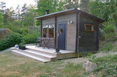 Backyard Guest Houses, Backyard Studio, Outdoor Sauna, Sauna Design, Finnish Sauna, Building A Cabin, Tree Hut, Bungalow, Best Tiny House