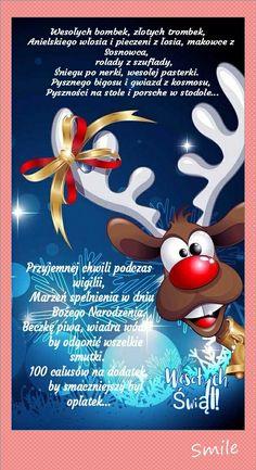 Kartka świąteczna 💚🌲🎅💟💚⛄👼😘 Christmas Greeting Cards, Christmas Wishes, Merry Christmas, Xmas, Polish Christmas, Weekend Humor, Good Night Messages, Inside Design, Christmas Paintings