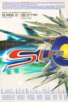 Surge 2 -  Friday, August 27, 1999