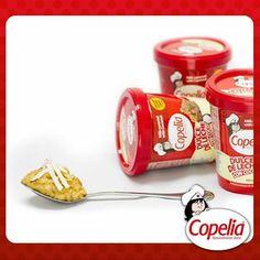 Toma una galleta de sal preferiblemente, coje una cuchara y toma un poco de dulce de leche con coco #Copelia. Fusiona estos 2 productos, al instante sentirás como tus papilas gustativas se emocionan y como todo tu cuerpo te pedirá más de esta deliciosa combinación!!