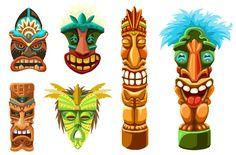 Tiki Art | Diane Schulz - Character Designs
