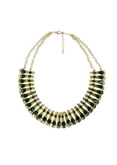 Pure Glam Necklace - Black $69.95 #leethal #accessories #fashion