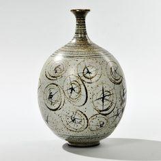 Antonio Prieto (1912-1967) Decorated Pottery Vase