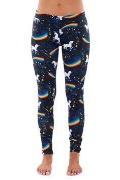 Space Unicorn Leggings