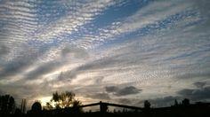 Veo el cielo desde mi hogar...