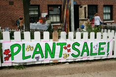 plant sale sign Garden Club, For Sale Sign, Flower Gardening, Plant Sale, Fundraisers, Pta, Some Ideas, Happenings, Planting