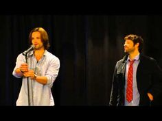 Misha: I think it's unfair, honestly. I'm a fully grown, six foot tall adult male who happens to have been saddled with a couple of giants. So now on television, I look like I'm tiny and I'm not tiny! By television standards, I'm actually too tall. It's so frustrating! MY FAV Video of them!!