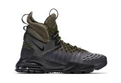 NikeLab Inreoduces the ACG Zoom Tallac Flyknit - EU Kicks Sneaker Magazine Nike Acg Boots, Nike Boots Mens, Next Boots, Kicks Shoes, Sneaker Magazine, Sneaker Boots, Men S Shoes, Black Leather Boots, Types Of Shoes