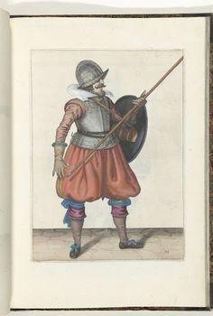 De exercitie met schild en spies no. 10 (1618)