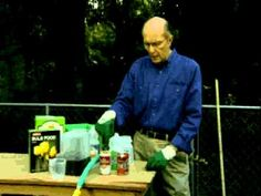 Jerry Baker's Year Round Vegetable Gardening Fall Clean Up - YouTube