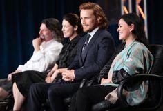 Outlander Panel @TCA15 #Outlander. Ron, Cait, Sam & Diana