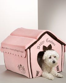 Pink Juicy Couture Dog House