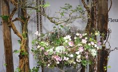 "Fleurop - Interflora World Cup Berlin Day 1. The first task, ""100% personal"" was all about the finalists' personalities. Check out this design by Ni Zhi Xiang from China, making off and interview on www.flowerweb.com..."
