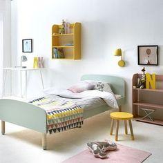 Stort design til de mindste - Flexa Play - Ilva. Kids Bedroom Designs, Kids Room Design, White Kids Room, Scandinavian Kids Rooms, Toddler Rooms, Toddler Bed, Home And Deco, Kid Beds, Room Colors