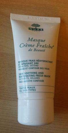 Beauty and the Blogger - UK Beauty & Lifestyle Blog: Nuxe Paris Crème Fraîche de Beauté - 24 hour soothing and rehydrating fresh mask