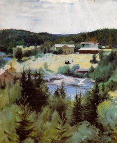 Kuva albumissa PEKKA HALONEN - Google Kuvat. Myllykylä 1893-94, Petit Oy, iso kortti.