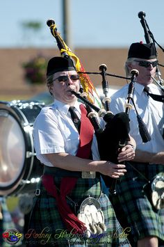 Bagpipers - Sackville Canada Day Parade 2011 by Rodney Hickey Design Studio, via Flickr