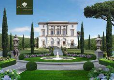 Italian villa and garden _BM