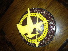 Hunger Games Birthday Cake for my incredible 11 year old boy: 2 layer ...