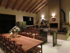 espaço gourmet com churrasqueira moderno - Pesquisa Google