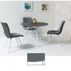 Masa rotunda Grey Stone D100 Grey Stone, Office Desk, Modern, Furniture, Home Decor, Desk Office, Trendy Tree, Decoration Home, Desk