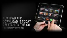 New IPAD App download it today & watch on the go