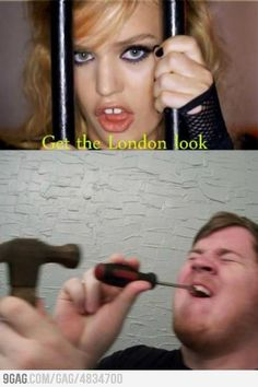 All commercials I see that have anything to do with London, gap between the teeth! Is that a British thing or what??