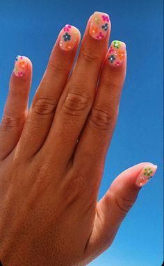 Acrylic Nails Coffin Short, Simple Acrylic Nails, Best Acrylic Nails, Acrylic Nail Designs, Coffin Nails, Colourful Acrylic Nails, Diy Nail Designs, Short Nail Designs, Simple Nail Designs