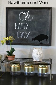 Do you love chalkboards?! I am kind of obsessed with them! I love chalkboards but hate the dusty mess that they leave behind. This idea is so clever to finally get rid of all that dust. Come learn how to make your own Dust Free Chalkboard!! It is so easy!!