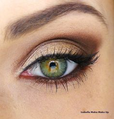 Brown Smokey Eye.. wedding makeup inspiration  | followpics.co