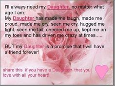 Humorous Mother Daughter Quotes | Daughters What They Mean To Mothers... - Janine's Confessions of a ...