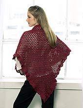 Knit a shawl pattern