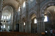 "Vezelay - ""one of the most beautiful villages of France"" and a UNESCO world heritage site."