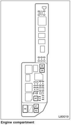 1999 Toyota Camry Fuse Box Diagram   Wiring Diagram on 1999 mercury mystique fuse box layout, 1999 jeep grand cherokee fuse box layout, 1999 ford contour fuse box layout,