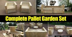 These days, pallets are hot and a DIY'ers dream medium. Not only are pallets easy to find and affordable (check craigslist or just ask), but they are also versatile and can be used for endless at home projects. Pallet Project Ideas 50 DIY projects Planters Raised Bed Gardens One... #spr #sum