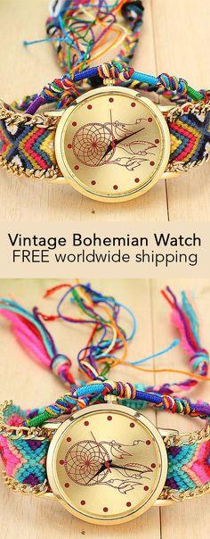 Vintage Bohemian Watch