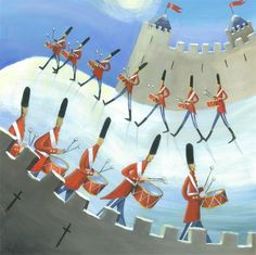 On the twelfth day of Christmas, Your True Love gave to you....  O, stay and hear; your true love's coming #TwelfthNight #twelfthdayofchristmas Carolyn Pavey - Twelve Drummers Drumming ORIGINAL