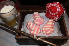 46 Harry potter treats! -peppermint toads